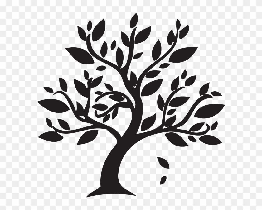 Find Hd Branch Clipart Autumn Leaves Black And White Tree Clipart Hd Png Download To Search And Download More Black And White Tree White Tree Tree Clipart