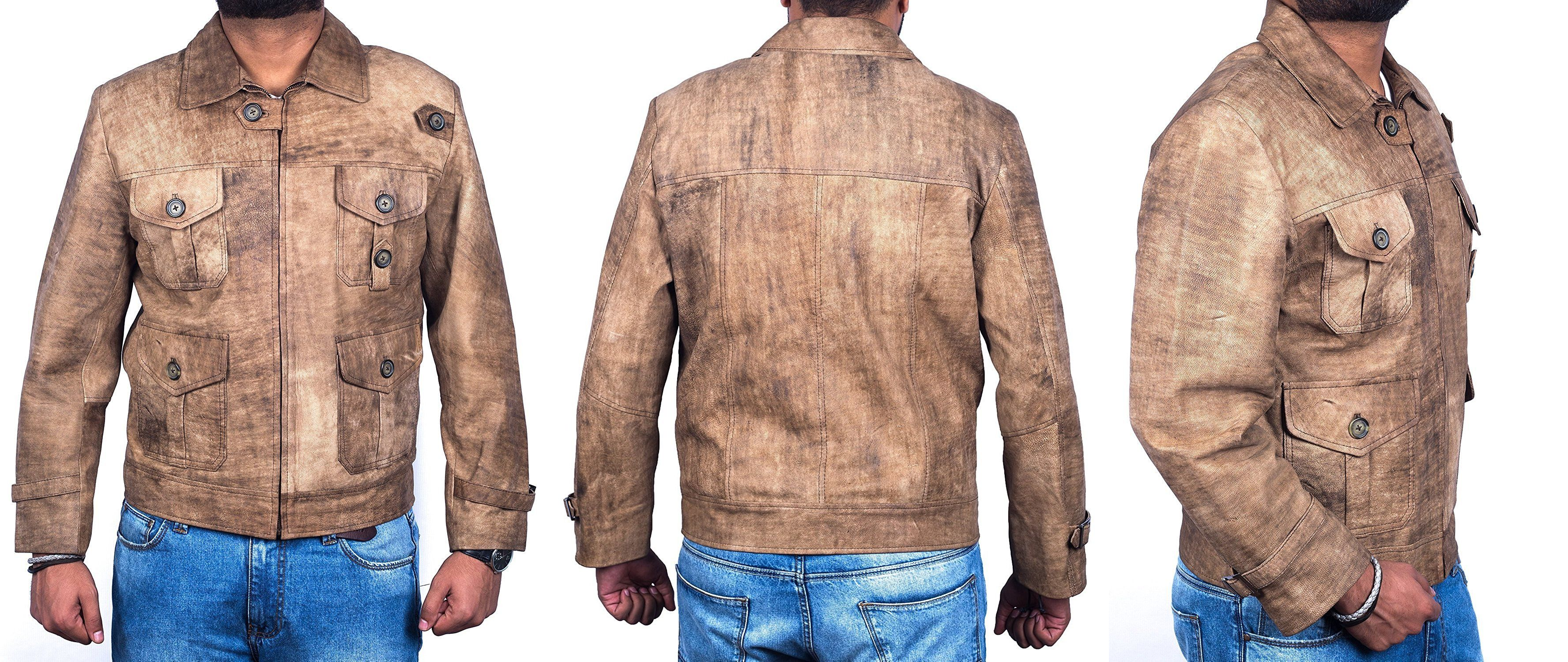 For Jason Statham Fan's Top Leather Factory Created Jason