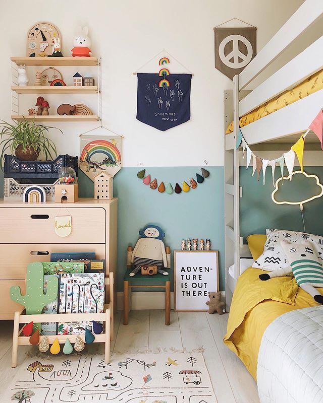 """Photo of #kidsroom Velveteen Babies – Kids Decor auf Instagram: """"Jungenzimmer – ständig die Drucke und die Bettw… – kidsroom"""