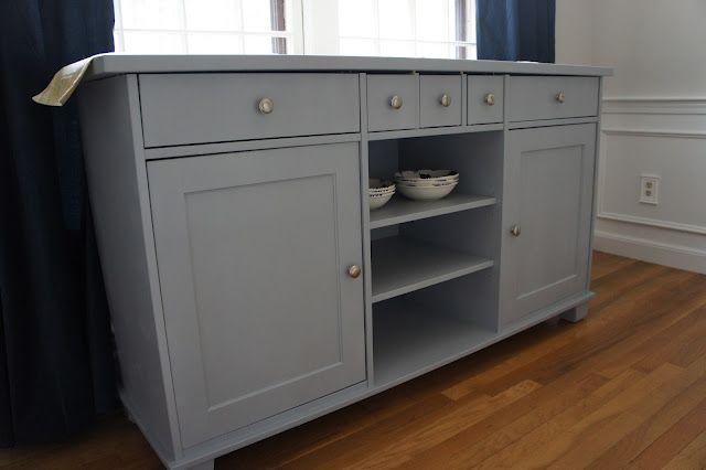 Credenza Ikea Stornas : Painted stornas diy furniture dining room