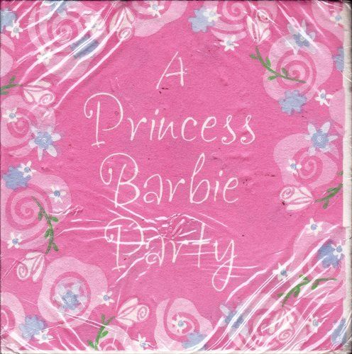 cool Barbie 'Dream Time' Small Napkins (16ct) Check more at http://partythemesforbirthday.com/product/barbie-dream-time-small-napkins-16ct/
