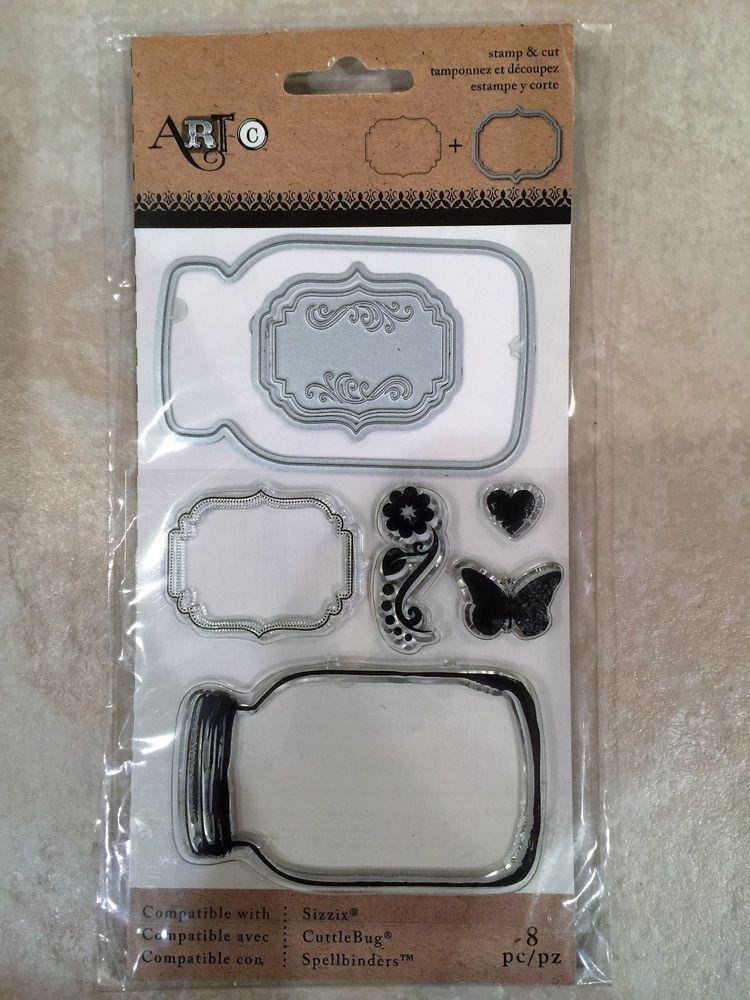 Mason Jars Momenta 24670 Stamp and Die Set