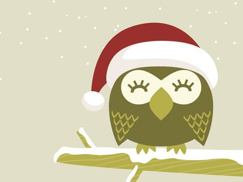 Christmas Owl Desktop Wallpaper Christmas Owls Owl Cartoon Owl Wallpaper