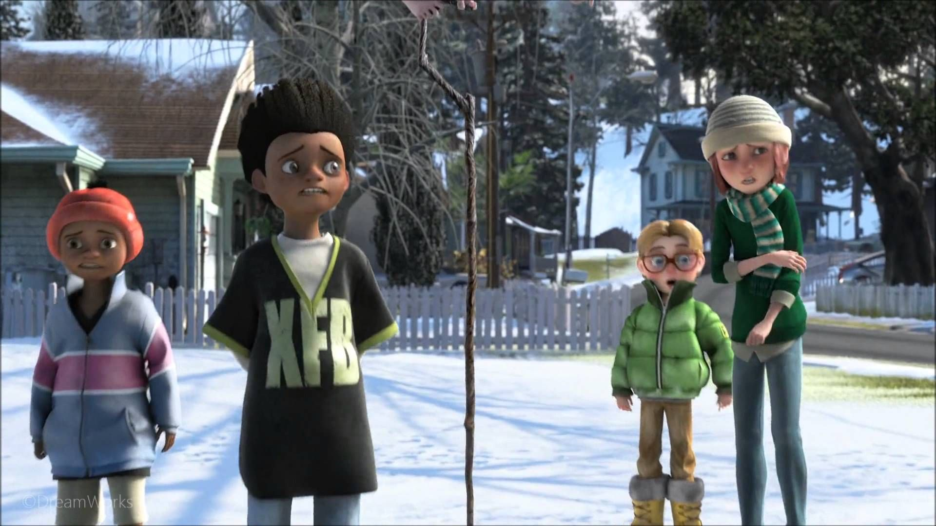 Rise Of The Guardians Snowball Fight Clip Hd Rise Of The Guardians Snowball Fight Snowball