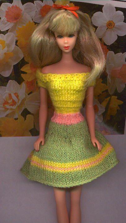 sorbet ... free pattern   Crochet barbie clothes, Barbie ...