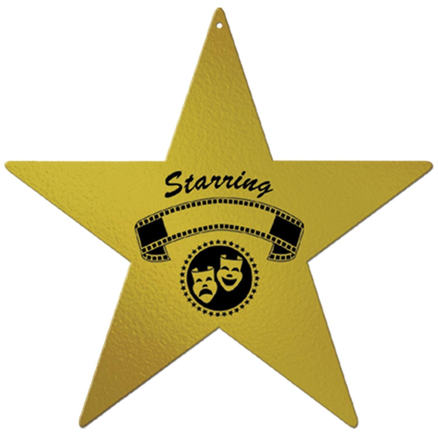 Awards Night Decoration Foil Awards Night Star (24ct) | Products ...