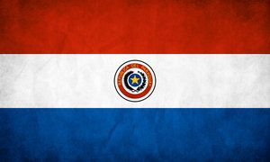 The flag of Paraguay was adopted in 1842. It is unusual because it differs on obverse and reverse sides. The only other national flag that shares this feature is that of Moldova, however, Moldova's is a mirror image, while Paraguay is completely a different image. The flag was revised in 2013, simplifying the coat of arms and bringing the design closer to its original form.