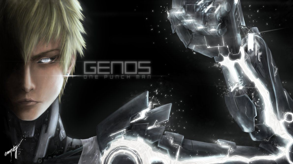 Genos by 00empty00 on DeviantArt One punch man, One