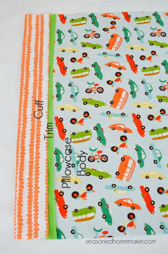 Burrito Style Pillowcase Mesmerizing How To Sew A Pillowcase Burrito Style Pillowcase Pattern