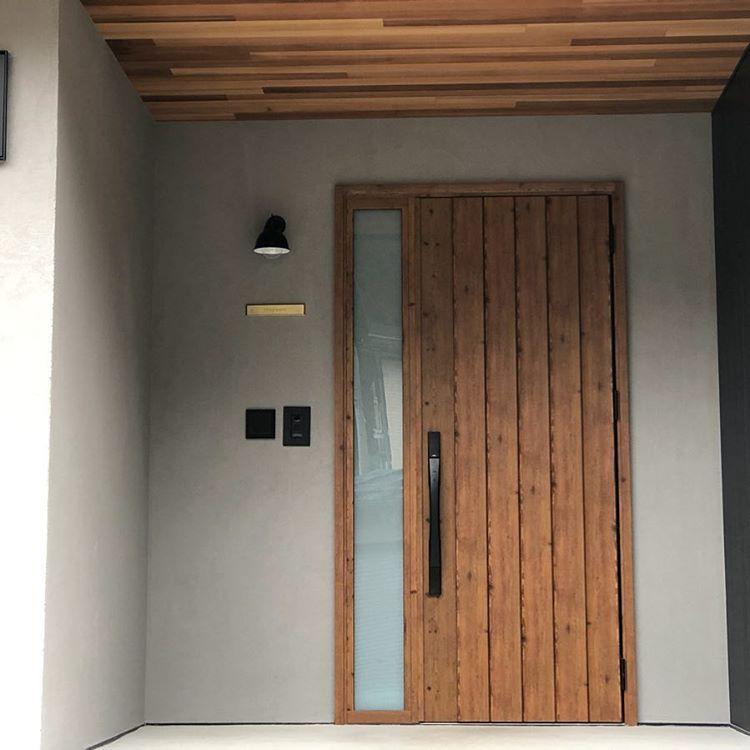 阪本建設設計事務所はinstagramを利用しています 玄関ドアの養生が