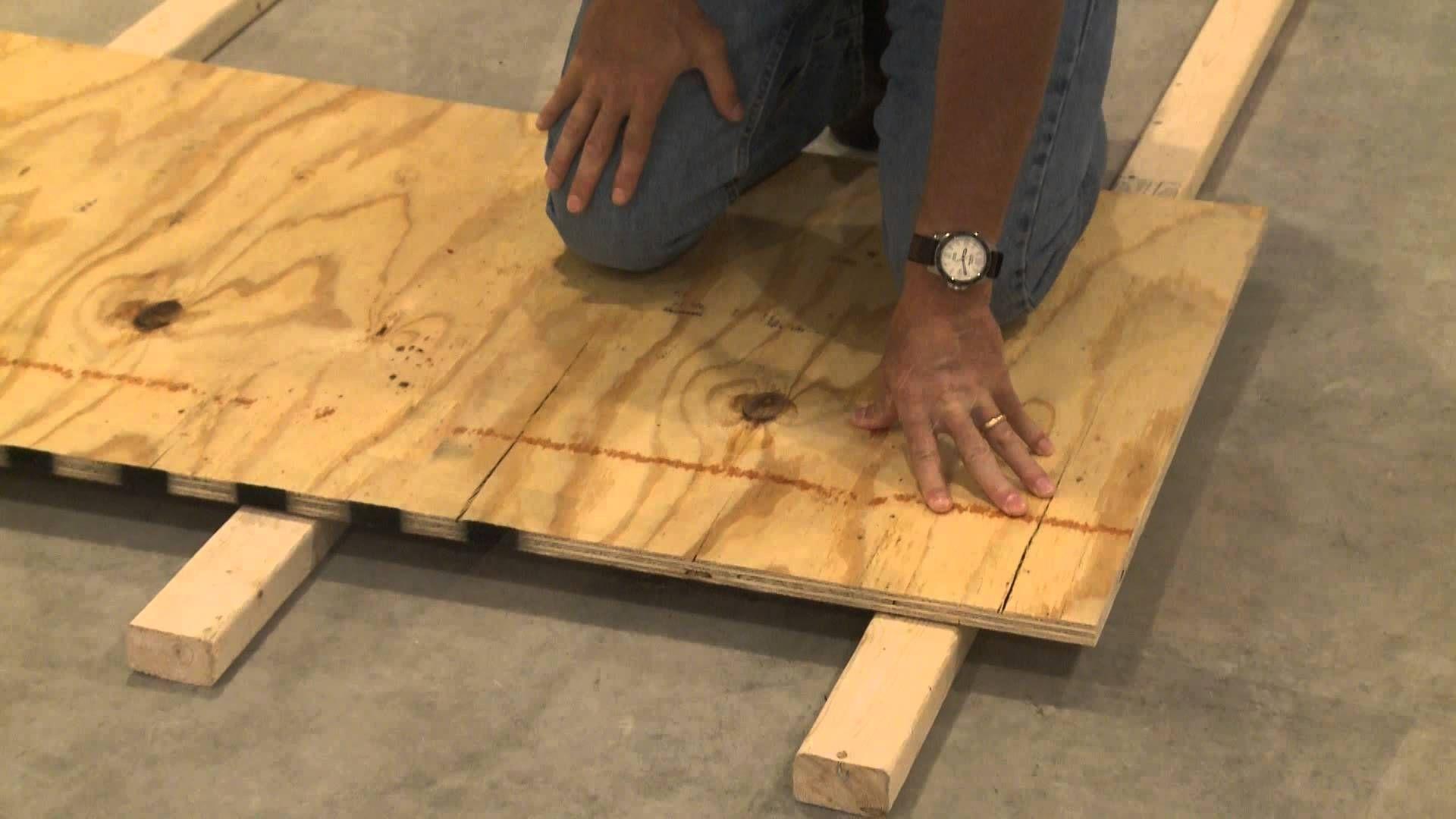 Underlay For Basement Floors in 2020 Basement flooring