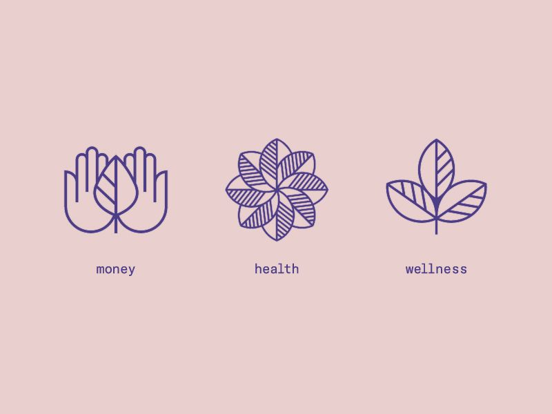 Money Health Wellness Icons Health And Wellness Health Icon