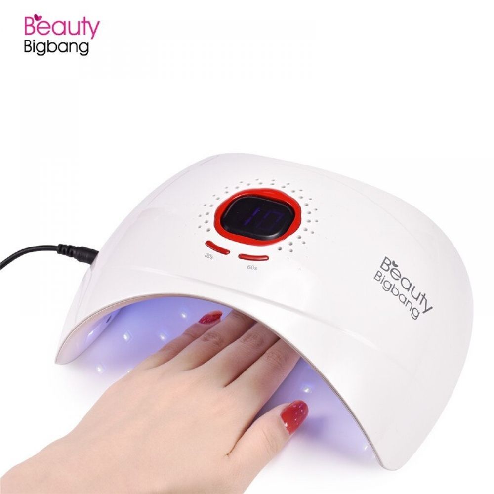 Beautybigbang 36w Rechargeable Battery Uv Lamp For Gel Varnish Sun 5 Led Manicure Lamp For Drying Nail Polish Nail Dryer Machine Nail Dryer Dry Nails Dry Nail Polish