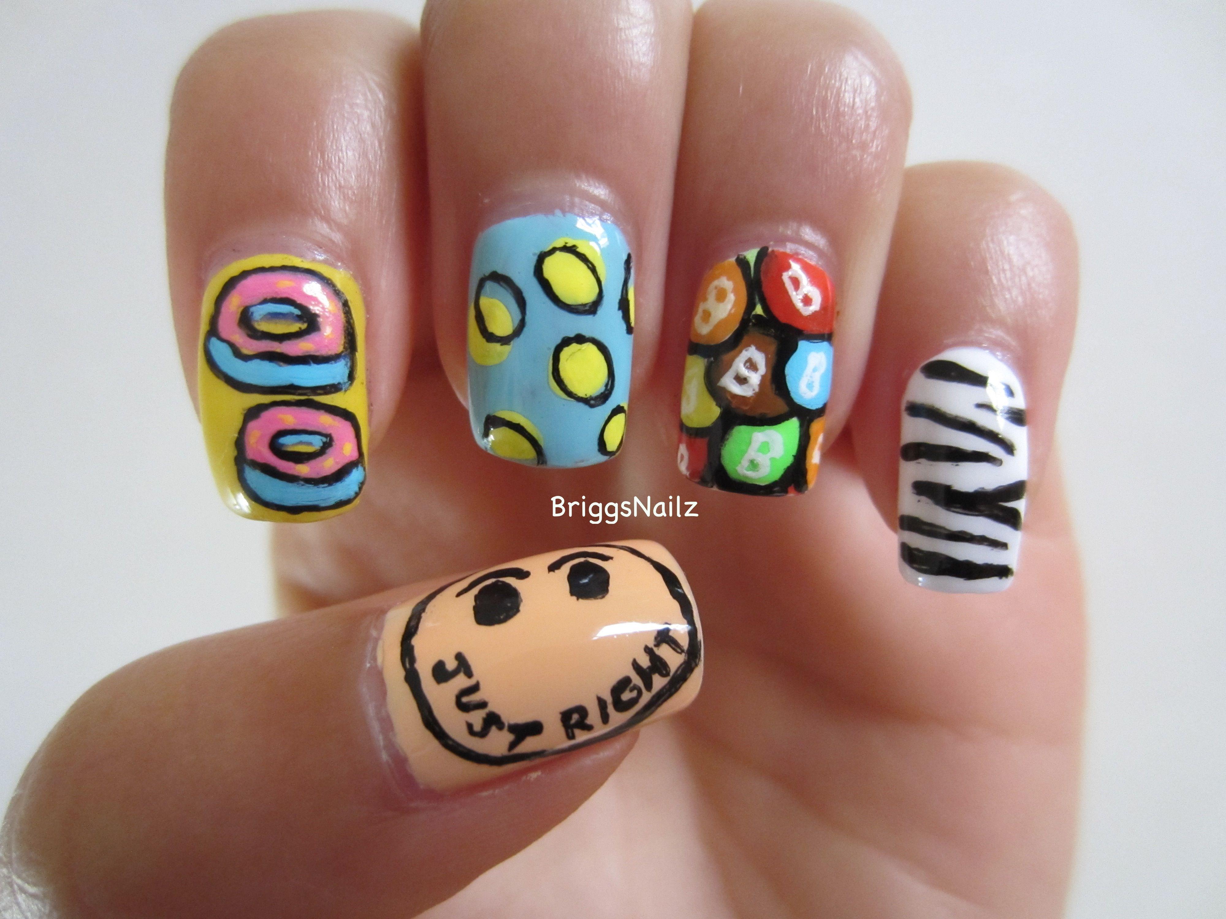 Nail Art Inspired By Got7s New Mv Just Right Got7 Pinterest