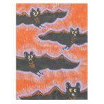 Batty Flight Halloween Tablecloth #halloween #happyhalloween #halloweenparty #halloweenmakeup #halloweencostume