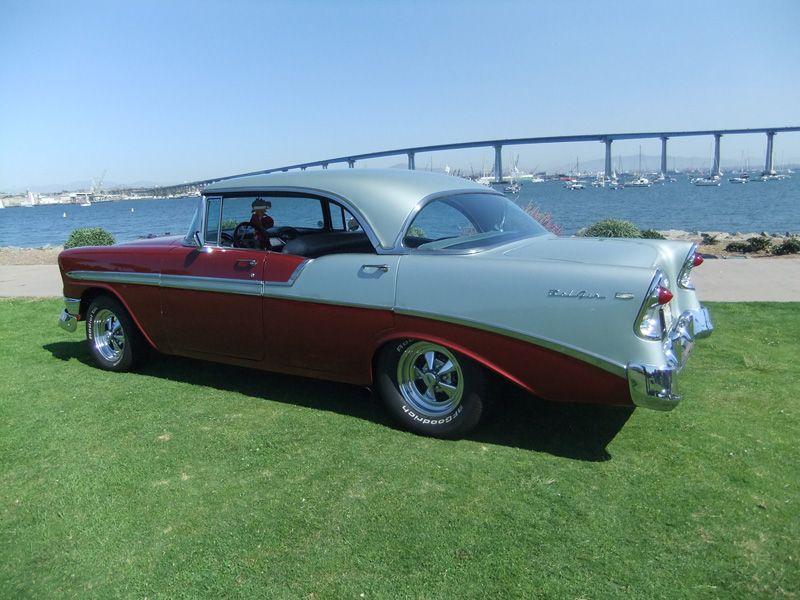 1956 chevy bel air sport sedan 4 door hard top jpm for 1956 chevy four door hardtop