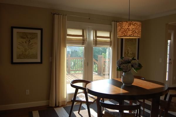 door window treatments door coverings dining room drapes dining rooms