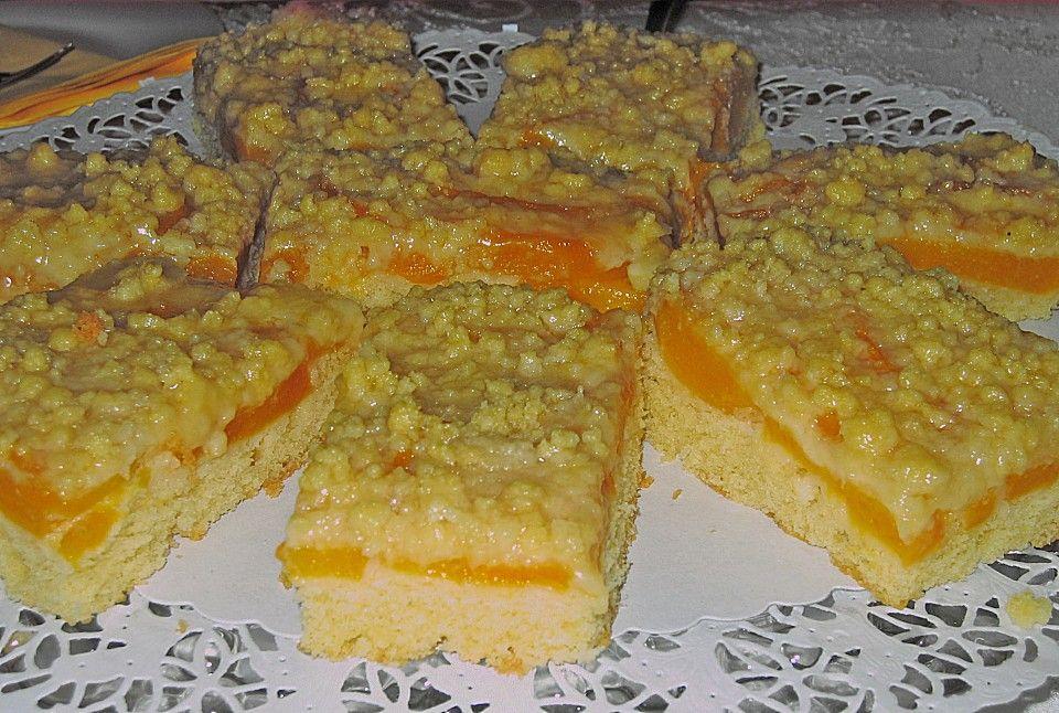 Pfirsichschnitten mit Streuseln | Recipe | Backen | Kuchen ...