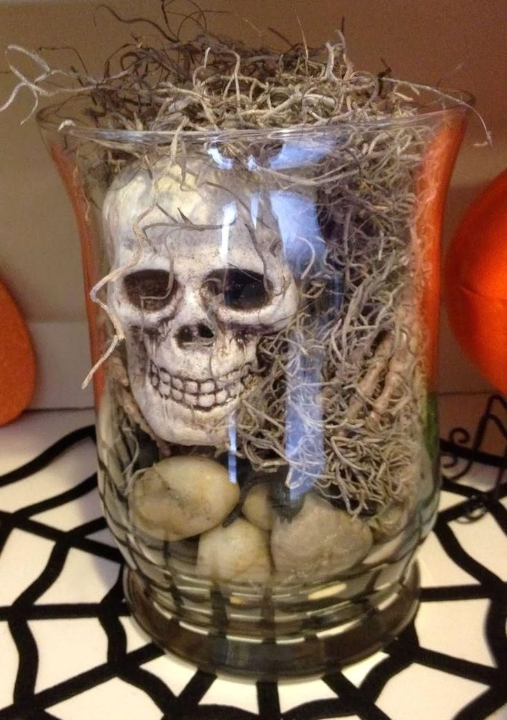 #Creative #Halloween 21 Most Creative Halloween Decoration Ideas On a Budget For Amazing Home – GooDSGN  Halloween is one of the events that can gather a lot of people both family and neighbors in the house. Holding a party or just gathering, of course, the decoration in the house also needs to be dec…