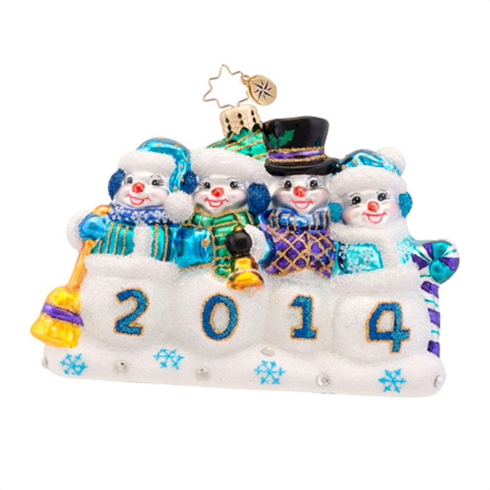 Christopher Radko A Snow-mazing Year 2014 Dated Christmas ...