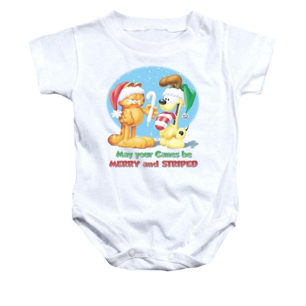 Garfield - Merry And Striped Baby Onesie
