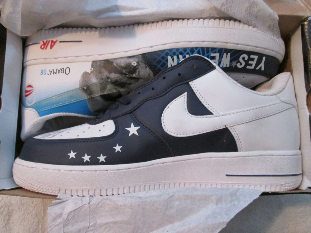 Yes We Nike Air Edition Change Limited Can Men's Sneakers Obama Nib htdQxrCsB