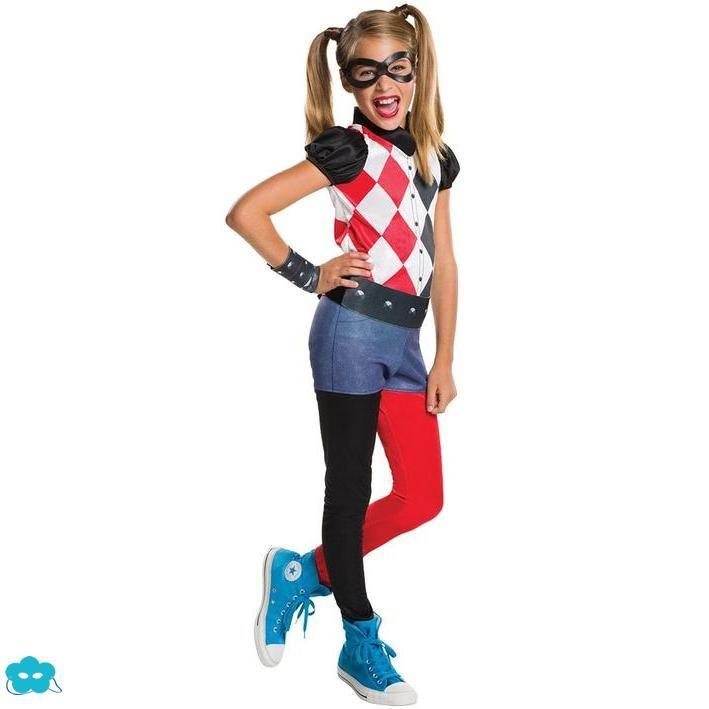 Disfraz de Harley Quinn para niña | Disfraces de Superhéroes ...