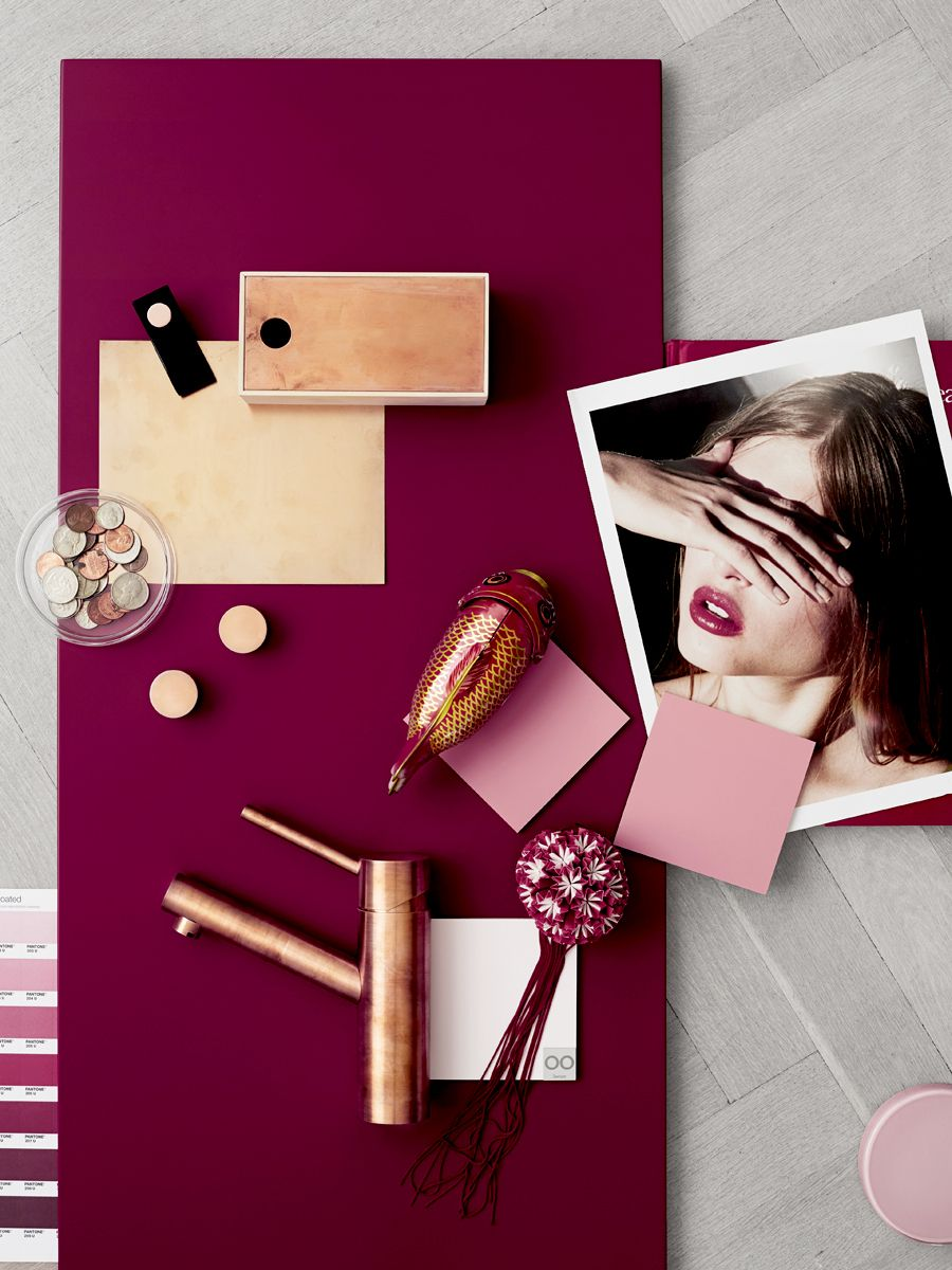 Lotta agaton portefolio pantone 2o15 tableros de for Combinazioni colori arredamento