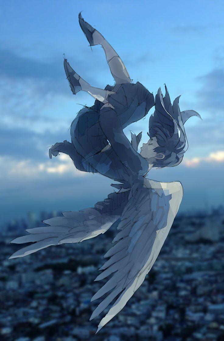 Jun Seni Anime Ilustrasi Alam Ilustrasi