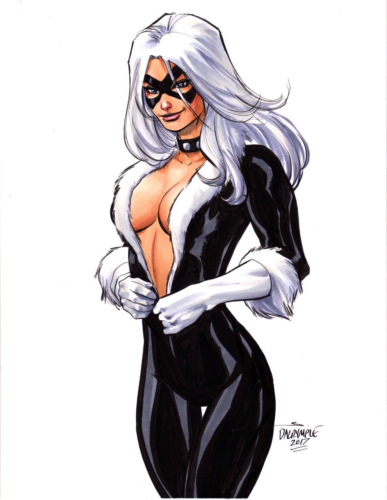Pin On Black Cat Felicia Hardy