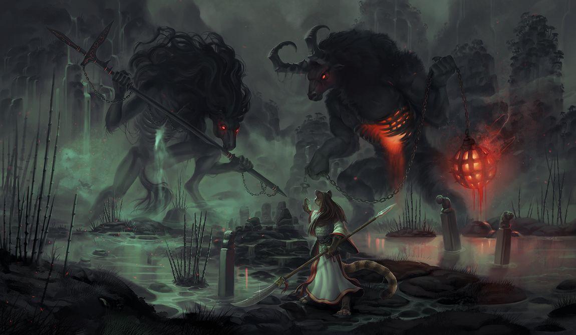 Cute Bloodborne Wallpaper A Hellish Greeting By Damie M Giant Humanoid Anthro Demon