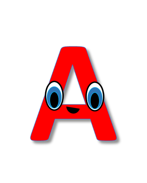 free alphabets clipart free cliparts pinterest rh pinterest com au alphabet clip art free stencils alphabet clip art free letters