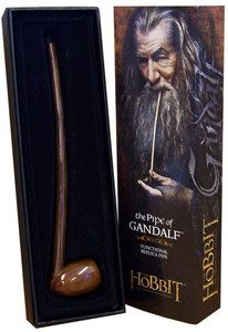 The Hobbit The Pipe of Gandalf Functional Working Replica Noble Collection | eBay