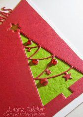 Christmas Tree Cutout - Impression Obsession Die - CropStop