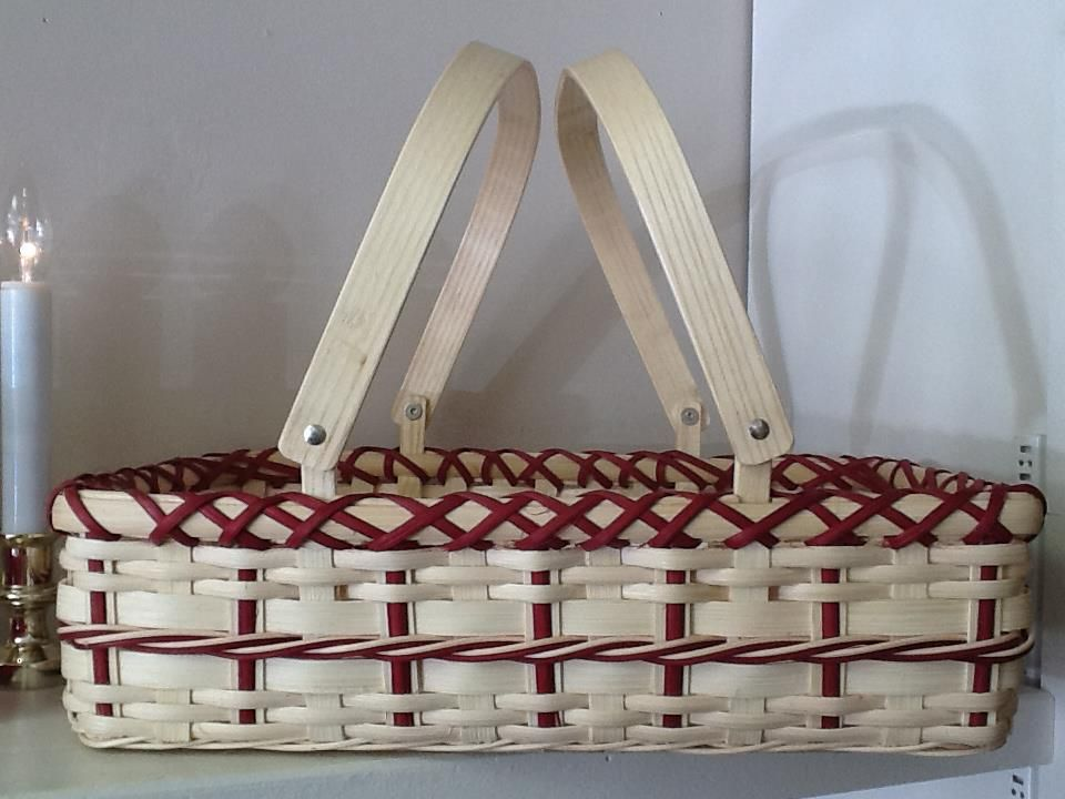 "basket by ""Homegrown treasures"""