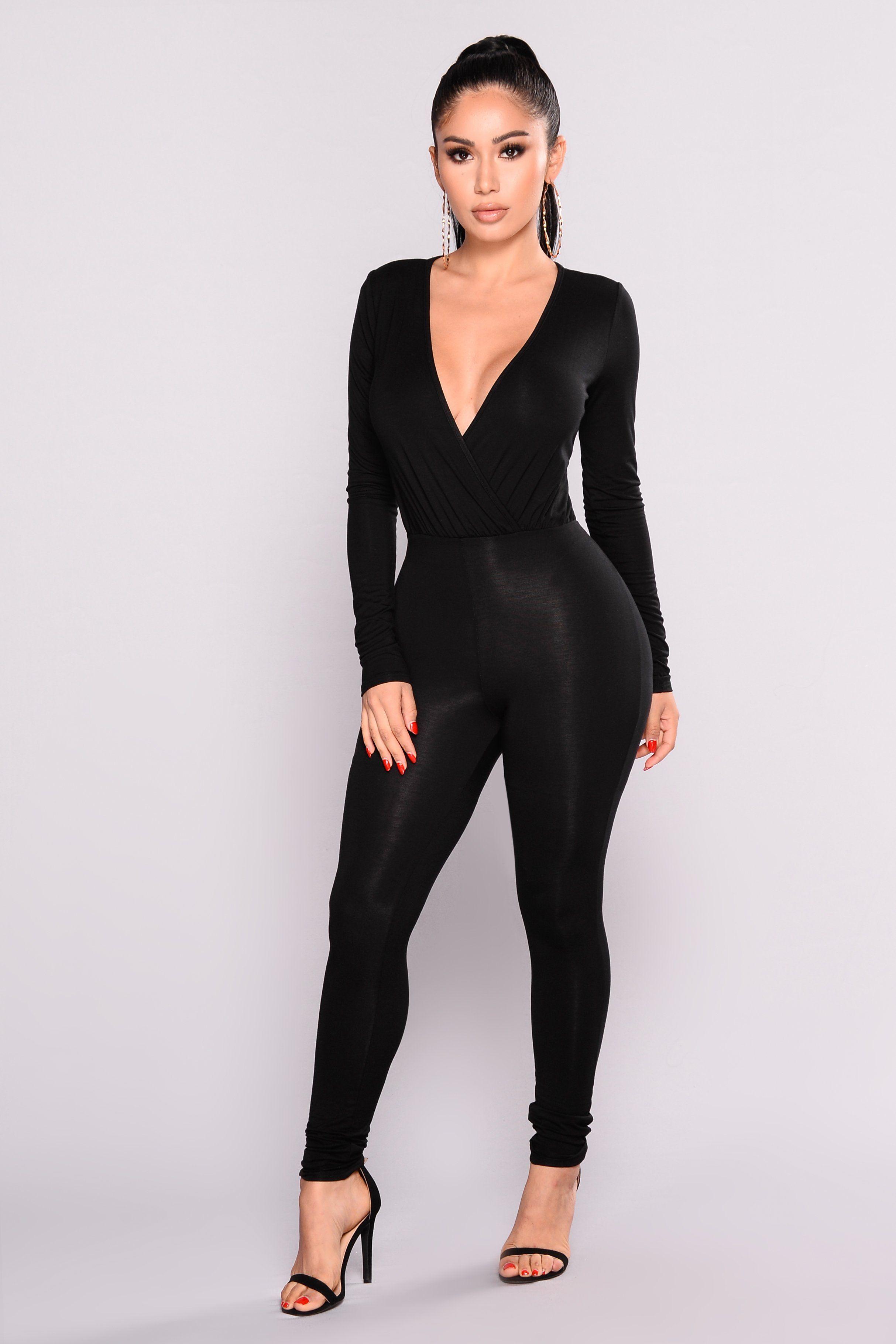 6525af5ce0fc Cared For Jumpsuit - Black