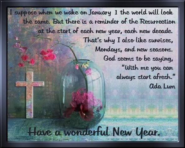happy new year christian ada lum