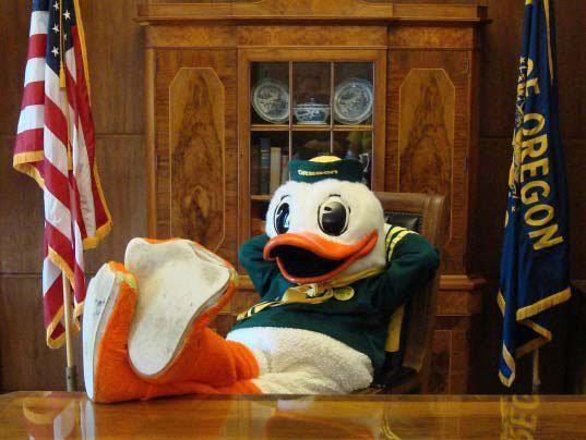 Duck Office Oregon Ducks Duck Hockey Live