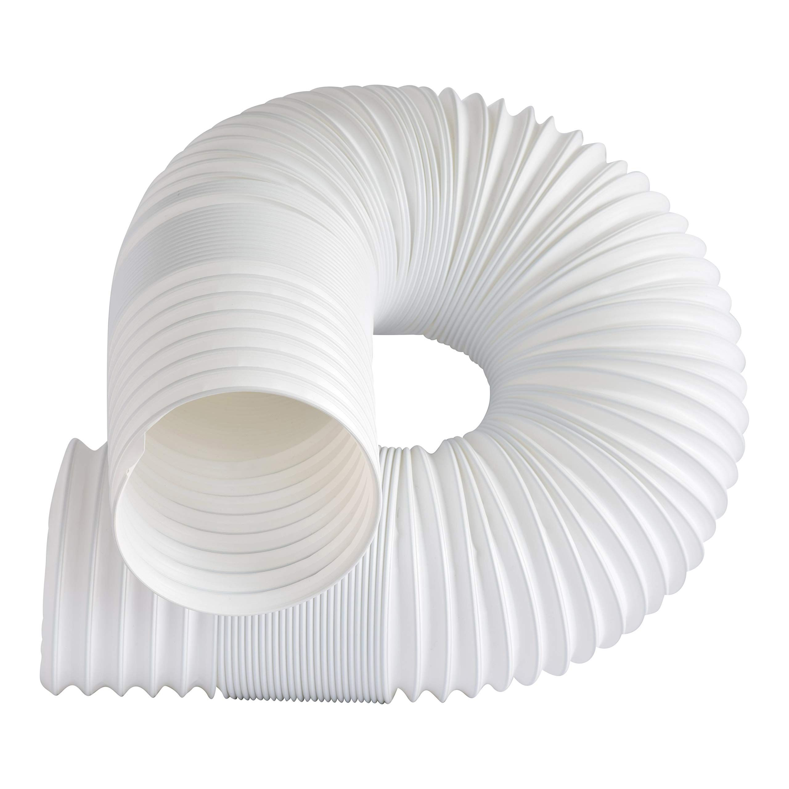 Dalridge Portable Ac Exhaust Hose 5 Inch Diameter Counter Clockwise Threading In White To View Further For This Portable Ac Outdoor Decor Air Conditioner