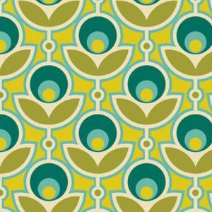 Coupon tissu fleurs g om triques a0464 tissus tissu dessin et dessin fleur - Coloriage fleur geometrique ...