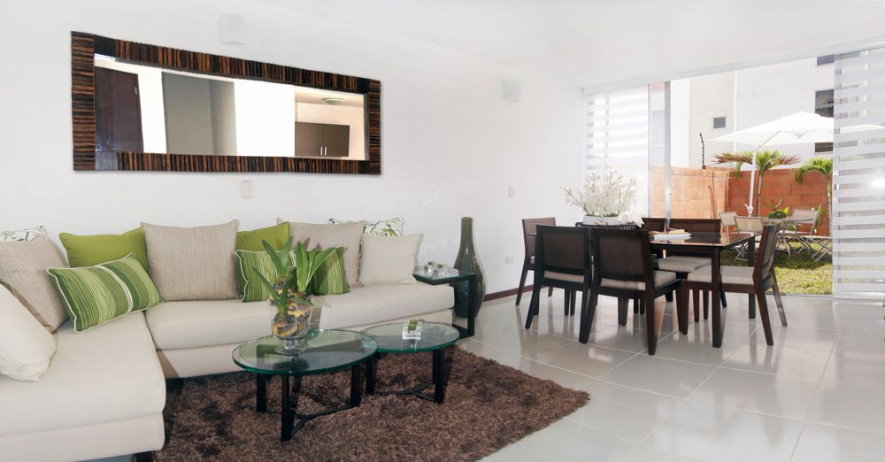 Pensando en remodelaci n ideas pinterest sala for Comedores modernos para casas pequenas