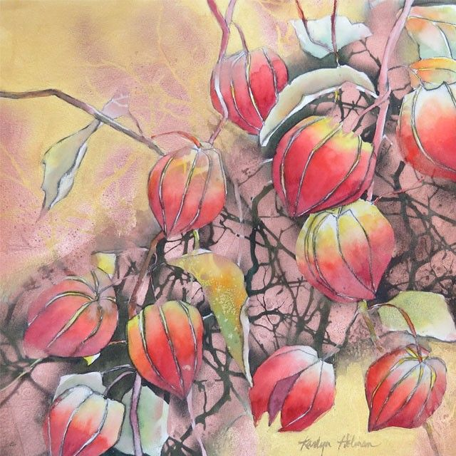 Painting Class With Karlyn Holman Watercolor Fun And Free Aug