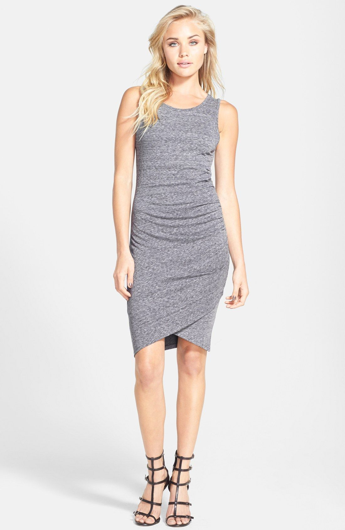 691af7dc9143 Leith Ruched Body-Con Tank Dress | fashion | spring | Nordstrom ...