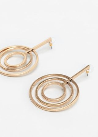 6462c168834d Intertwined hoop earrings - Women in 2019