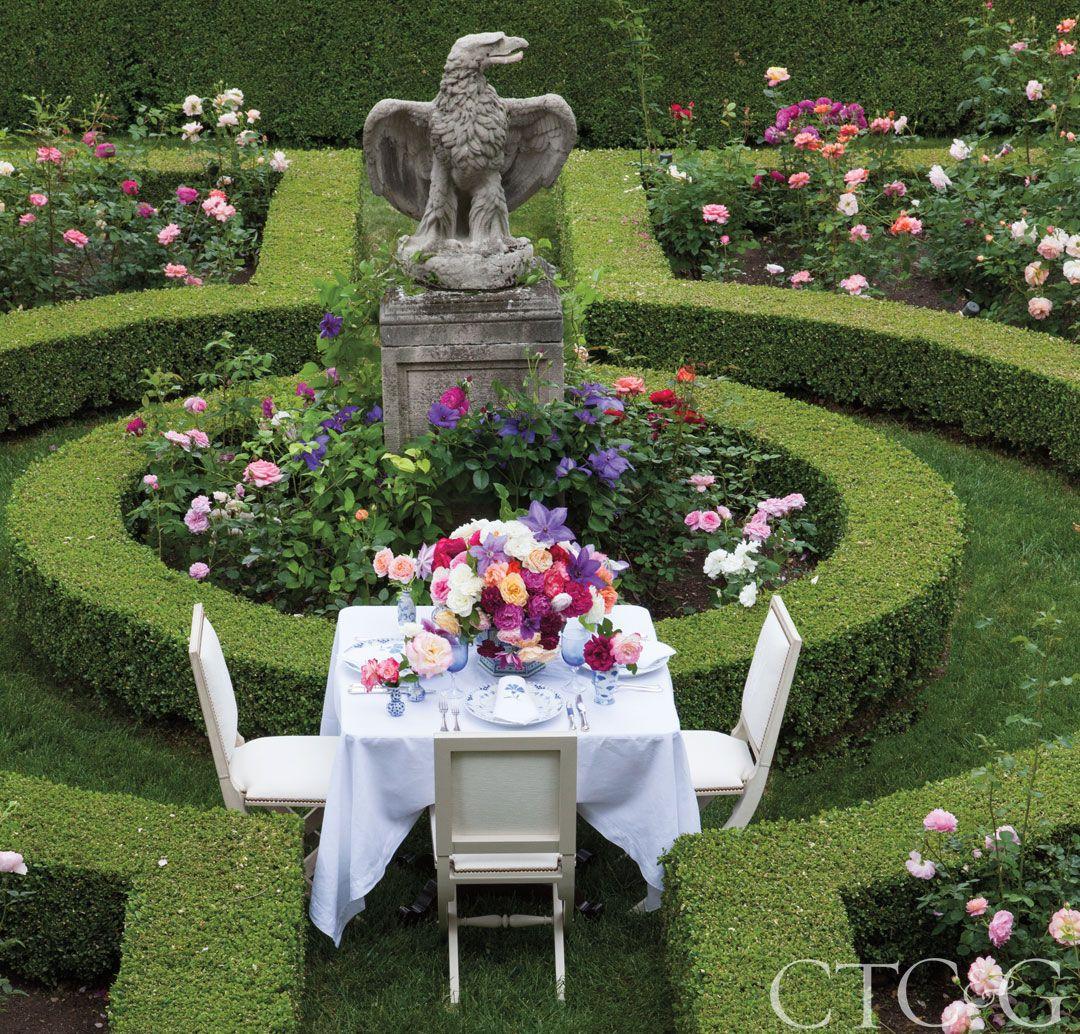 Meet Designer Carolyne Roehm Rose Garden Design Beautiful