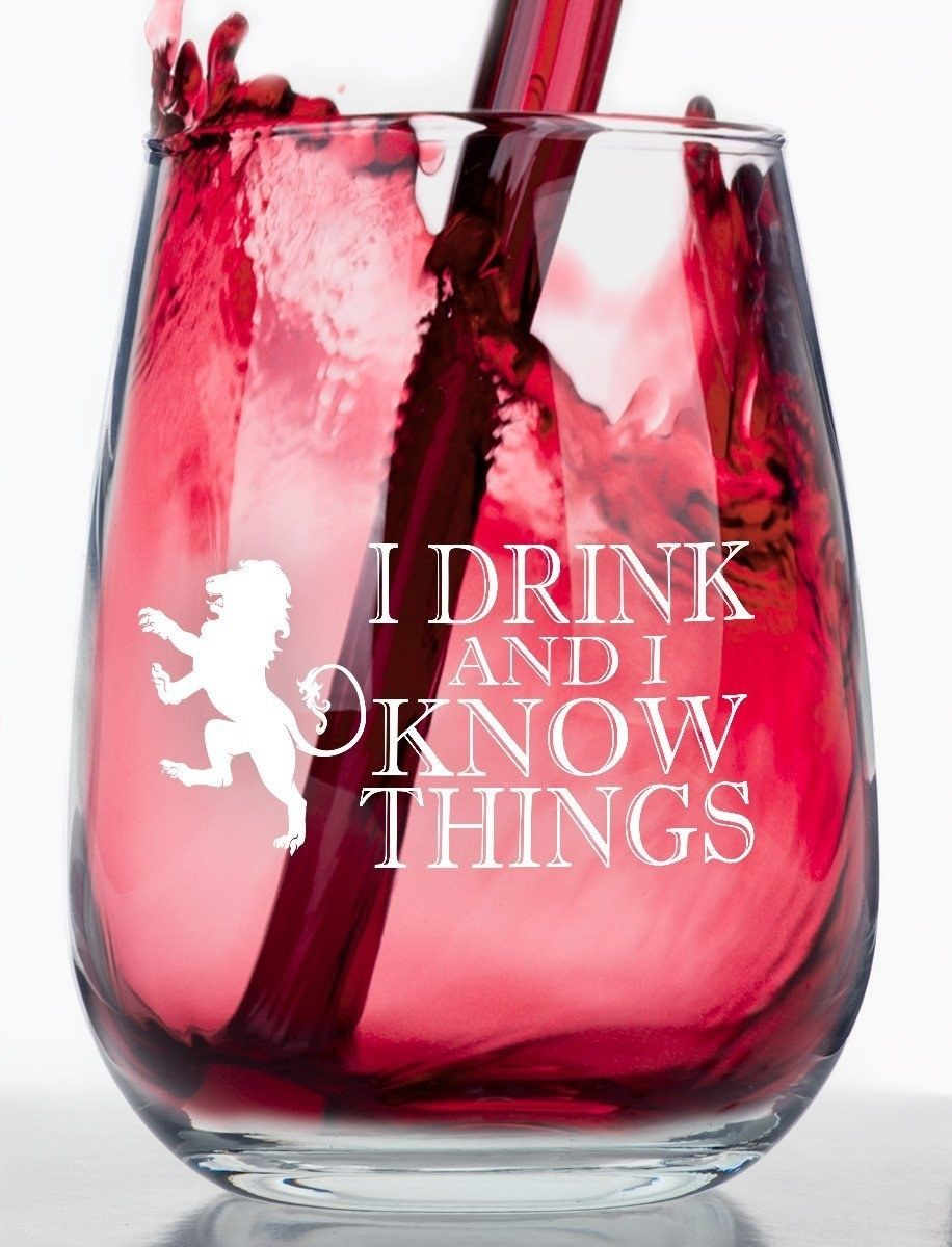 33 Gifts For People Who Love Game Of Thrones Stemless Wine Glass Wine Glass Game Of Thrones Gifts