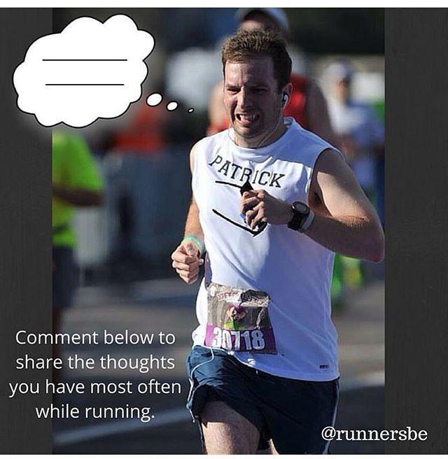 Fill in the blank...@runnersbe