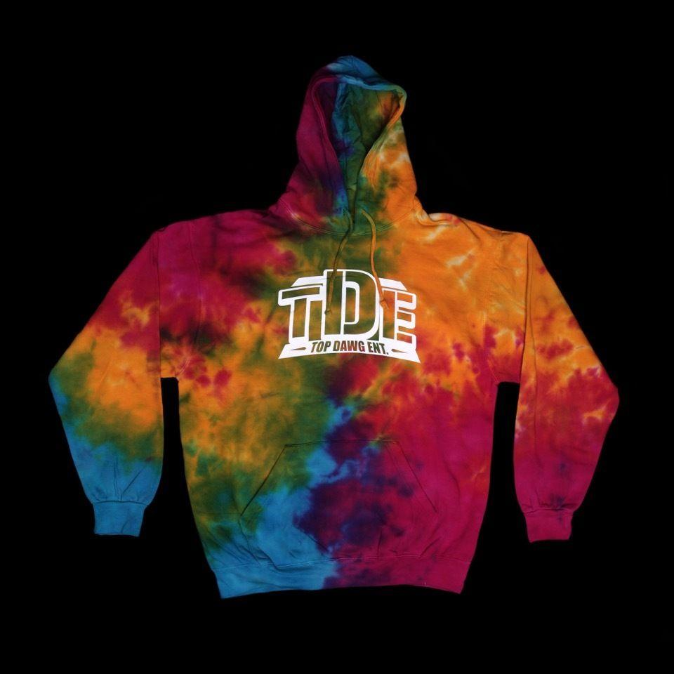 Special Edition Tde Hoody Tye Dye Hoodies Outerwear Sweater Tye [ 960 x 960 Pixel ]