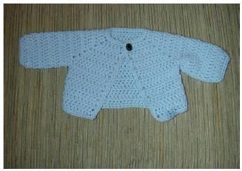 Hæklet sweater