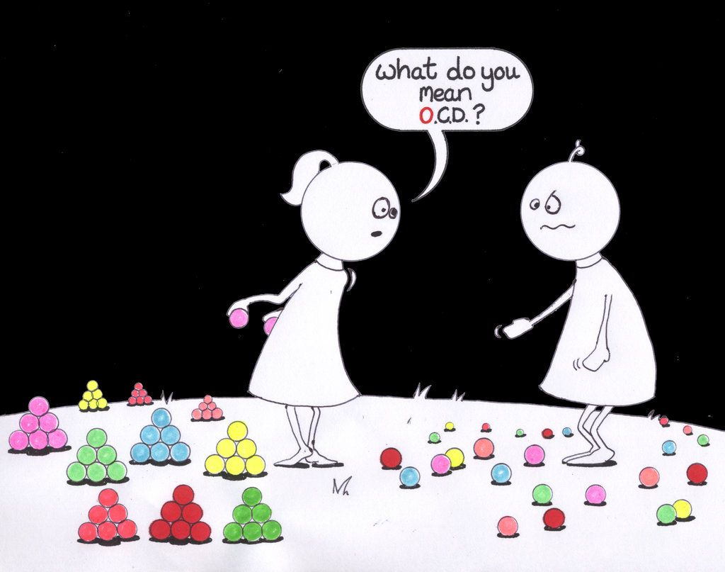 Ocd Cartoon Ocd By Larabubblegirl Cartoons Comics